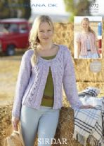 Ladies Double Knit Cardigans